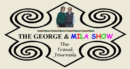 The George and Mila Show:The Travel Journals